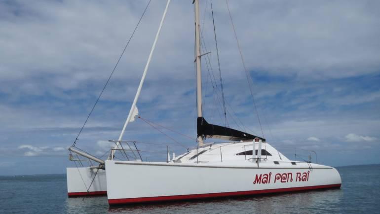 Sawyer 40 Sailing Catamaran #5314