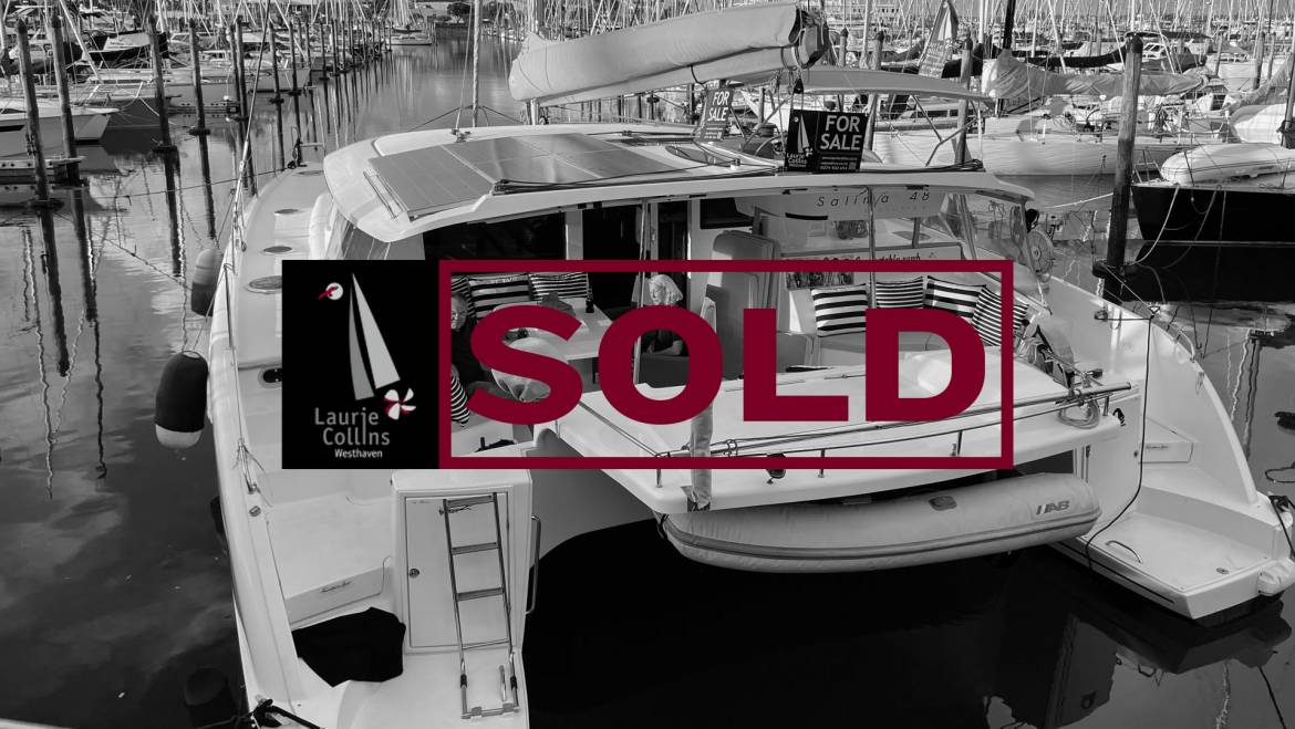 Salina 48 Evolution Fountaine Pajot Catamaran #5325
