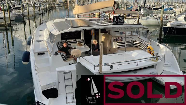 Salina 48 Evolution Fountaine Pajot Catamaran #5325